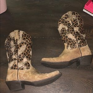 Ariat Legend Shattered Leopard Boots